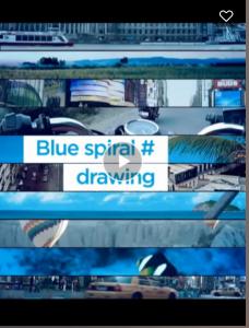 magisto blue spiral