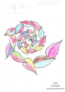 Coloriage de Silas, 5 ans - Paris, France