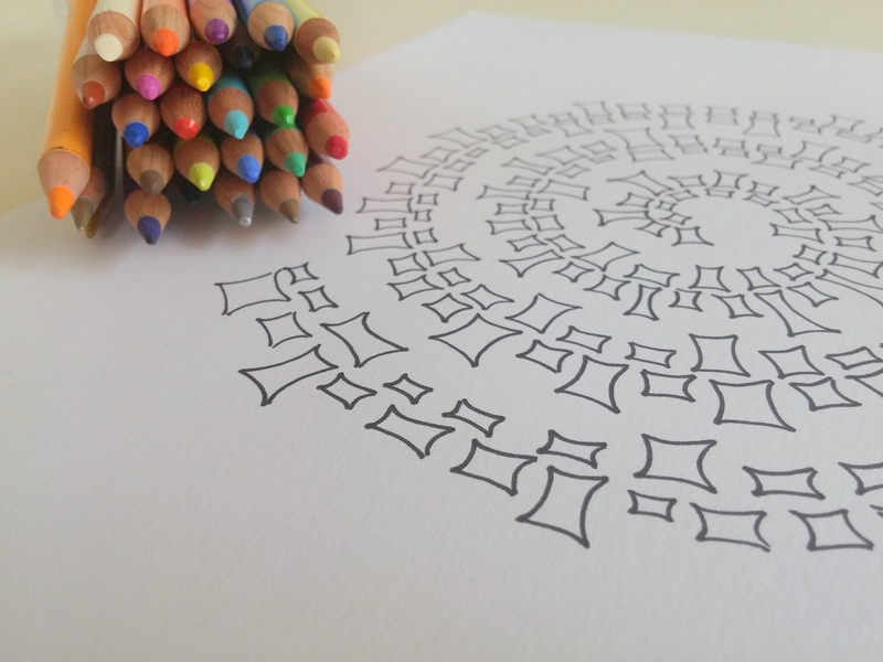 Lydia Canizares Spirale Geometrique