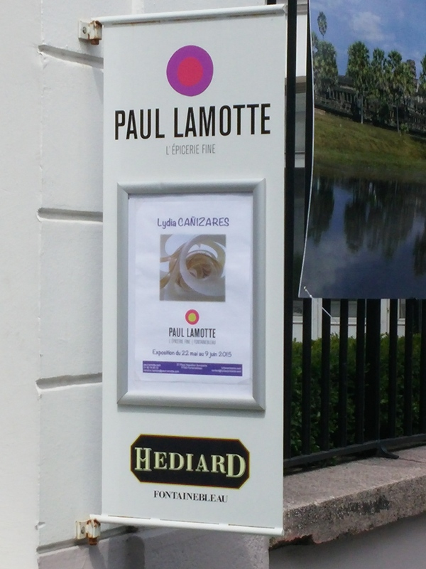Affiche exposition Paul Lamotte