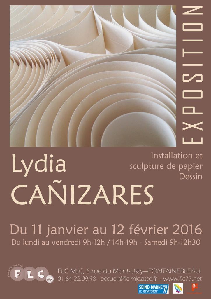 Affiche Exposition FLC 2016 Lydia Canizares